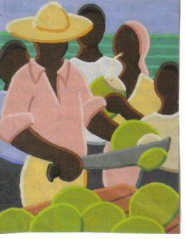 Coupeur de cocos par PIAF