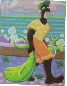 Image de pêcheur par piaf